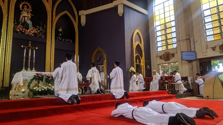 solemn profession of two friars (1)