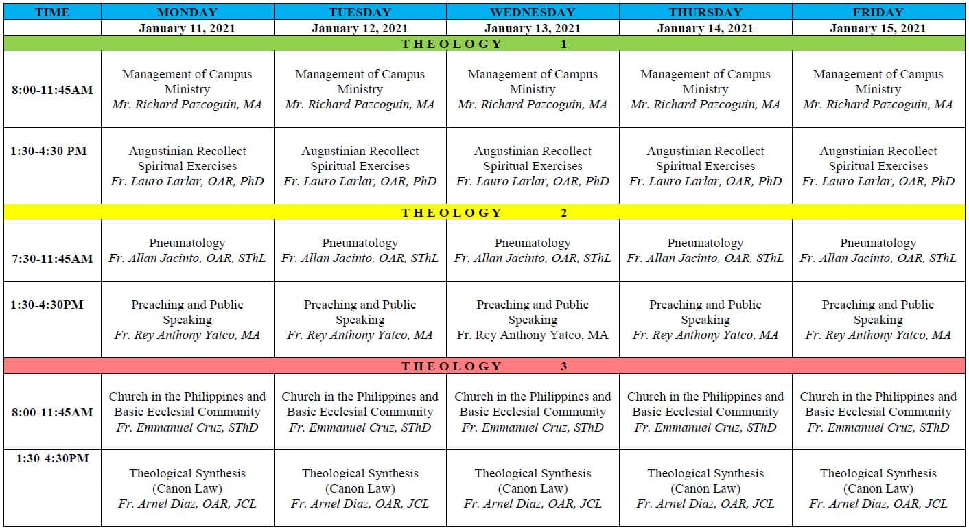 RST 2nd-Sem-AY-2020-2021-Seminar Sched